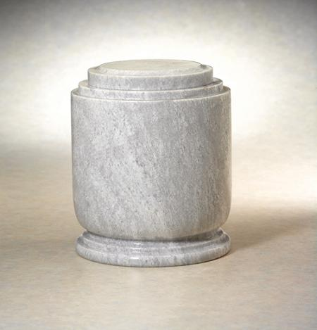 NM30415L Homage Natural Marble Urn
