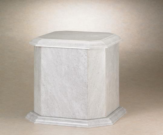 NM30418 Steadfast Natural Marble Urn