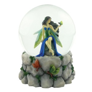 3490 Fairy Glen Water Globe 100mm