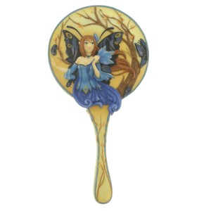 3493 Peacock Fairy Hand Mirror