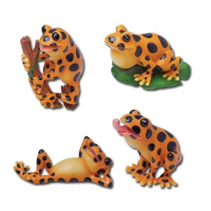 7641 Frogs Set of 4