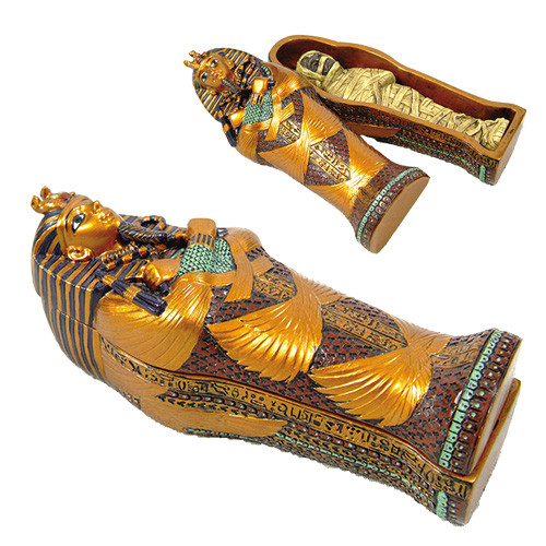 7751 King Tut Sarcophagus w/ Mummy