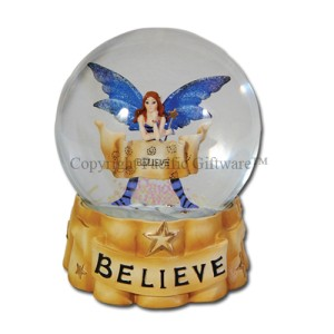 7901 Believe Water Globe