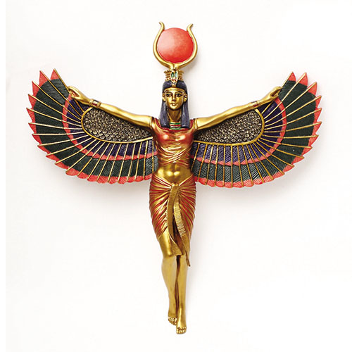 8107 Isis Open Wings Plaque