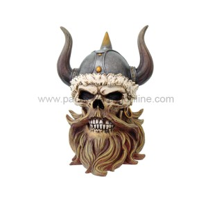 8273 Viking Skull Box