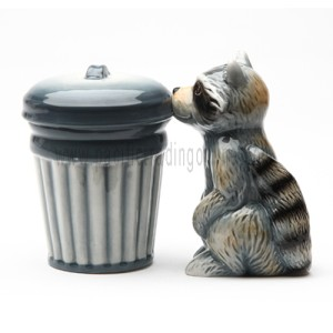 8613 Racoon And Trash