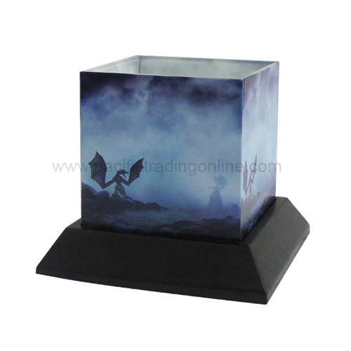 8756 Dragon Myst Candle Silhouettes