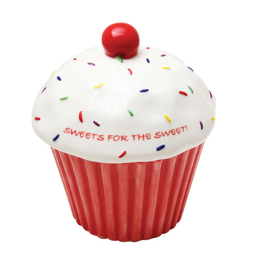 8809 Cupcake Cookie Jar