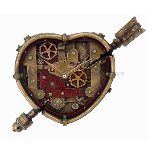 8881 Steampunk Clockwork Heart