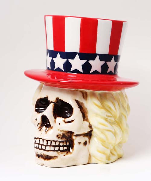9007 Uncle Sam Skull Bank