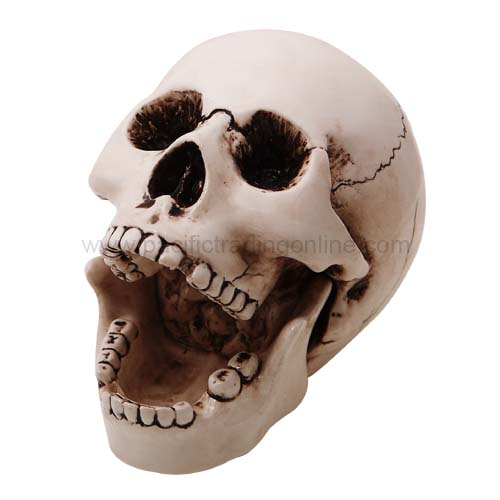 9008 Skull Open Mouth Ashtray