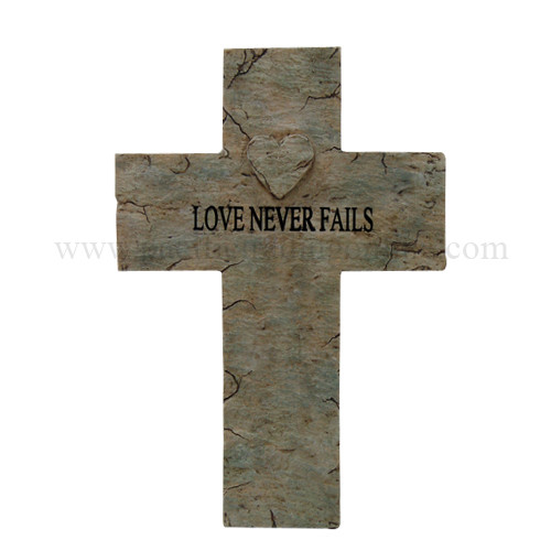 9057 Love Never Fails Cross