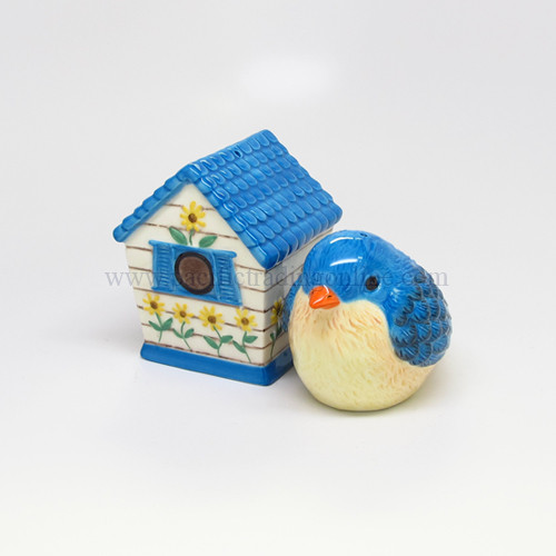 9089 Bird and Birdhouse