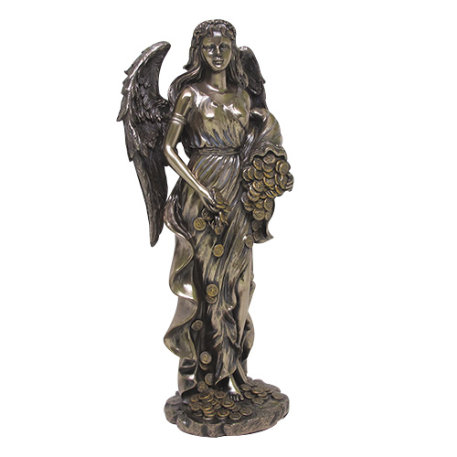 Classical Greek Goddess Lady Fortuna Statue Fortune Wealth