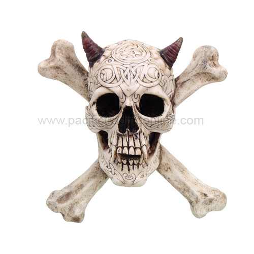 9412 Devil Skull Cross N Bones