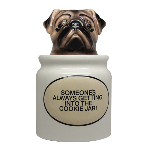 9465 Pugs Cookie Jar