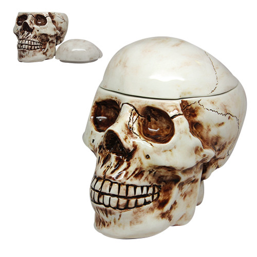 9468 Skull Cookie Jar