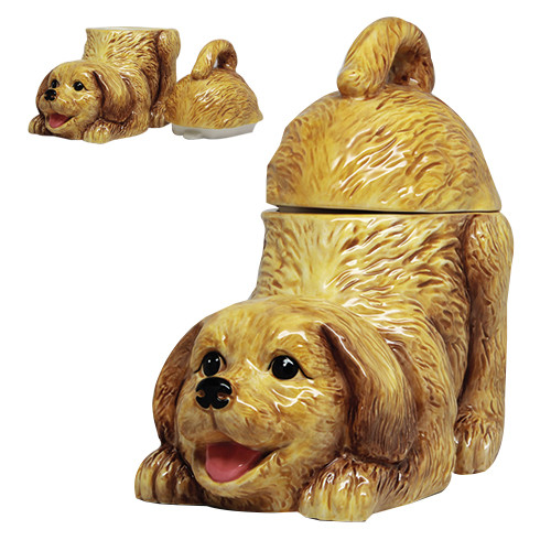 9469 Golden Retriever Cookie Jar