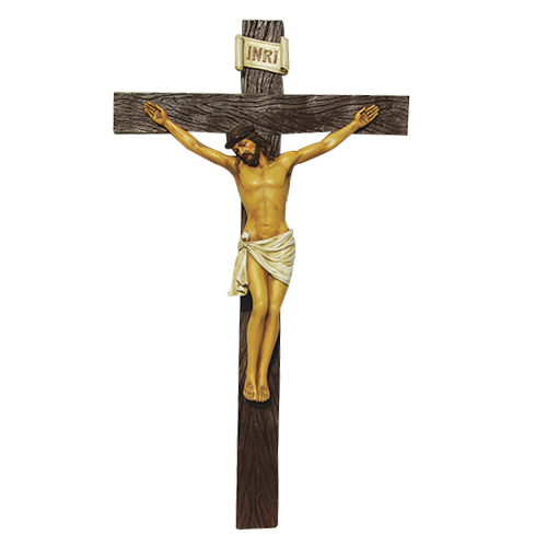 9507 Wall Crucifix Color