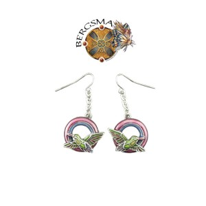 J038 Hummers Night Dream Fairy Earrings