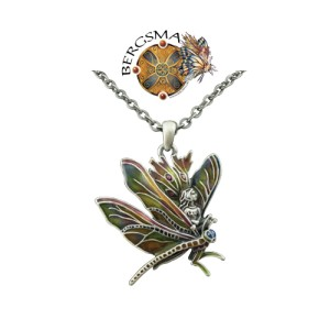 J039 Dragon Rider Fairy Necklace