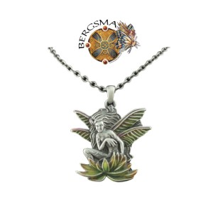J045 Wild Magic Dragonfly Fairy Necklace