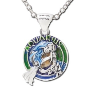 J145 Aquarius Necklace