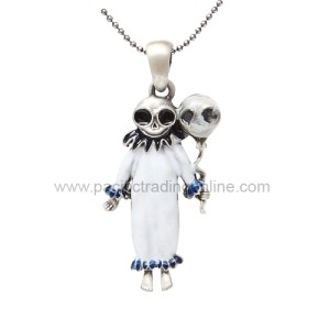 J256 Clown Skelly Necklace