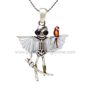 J260 Pirate Skelly Necklace