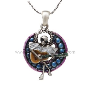 J264 Skelly Choir Necklace