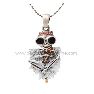 J265 Springtime Skelly Necklace