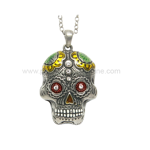 J367 Day of the Dead Skull