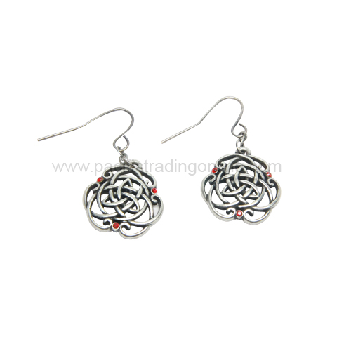 J373 Celtic Earrings