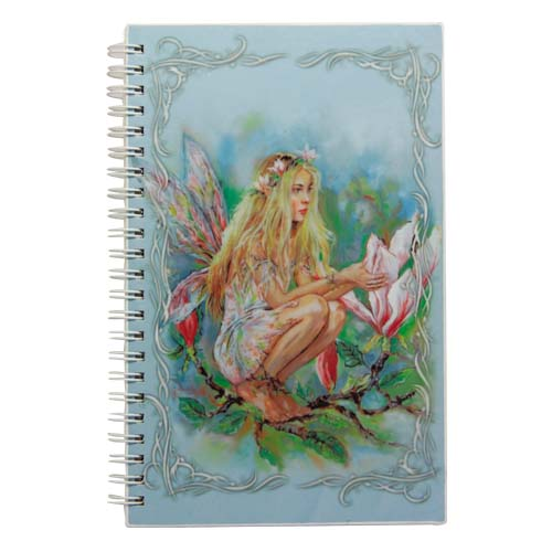 NOW8202 Three Magnolia Fairies Medium Journal