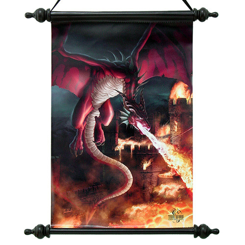 TWO01SC Incineration Dragon Scroll