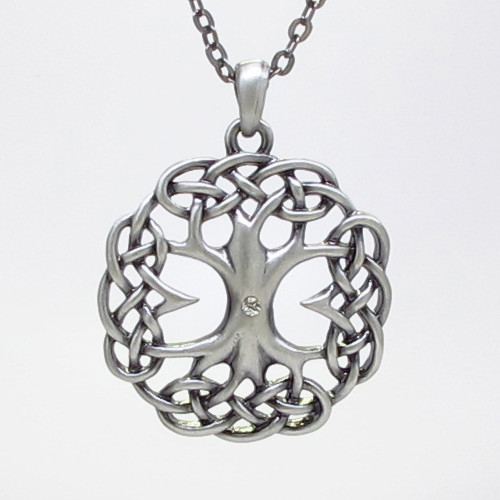 J357 CELTIC TREE NECKLACE